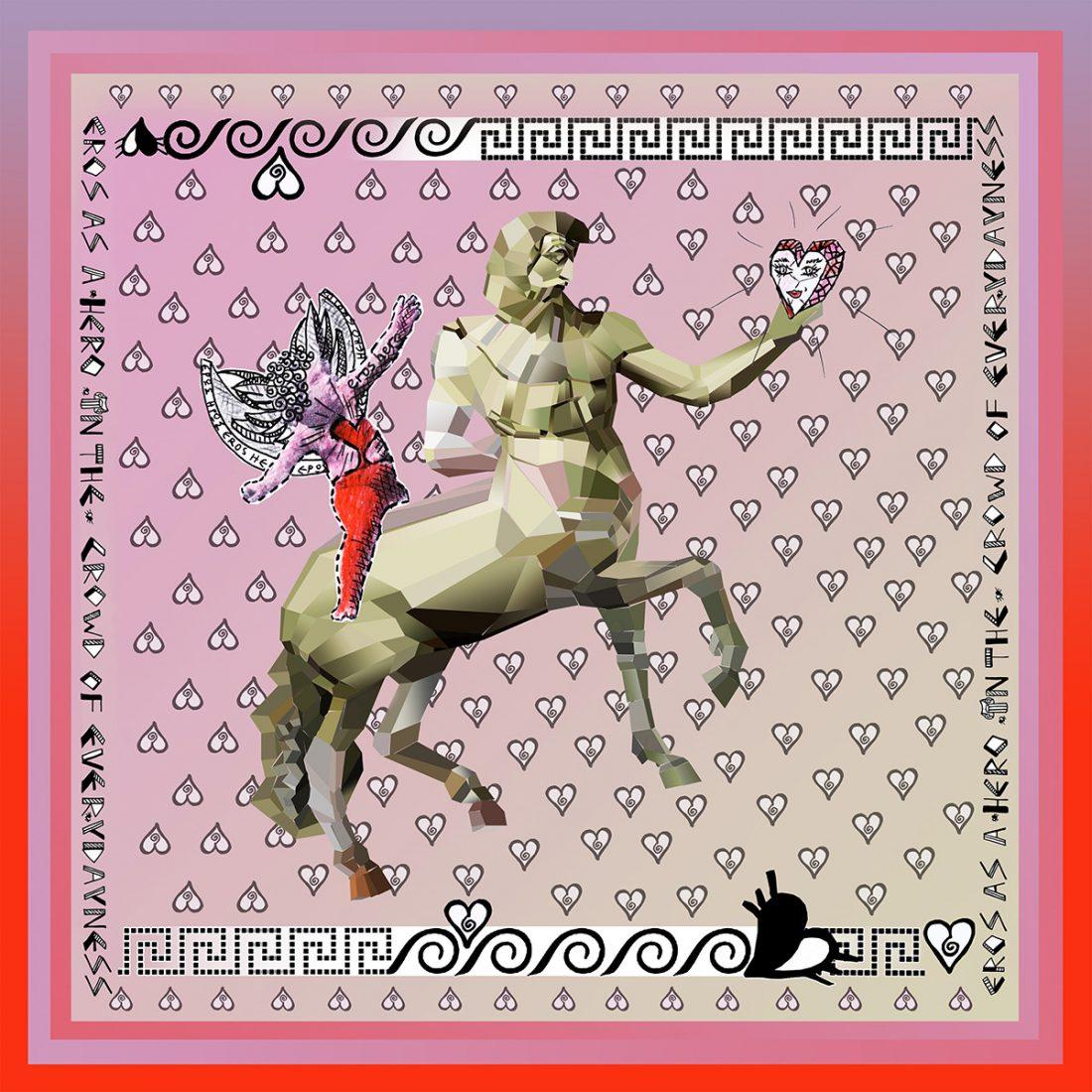 Eros Teasing Centaur